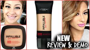 new l paris infallible pro matte