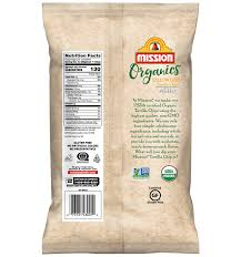 organic yellow corn tortilla chips