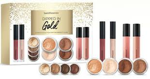 12 piece dipped in gold gift set 49