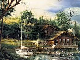 terry redlin paintings of summer scene