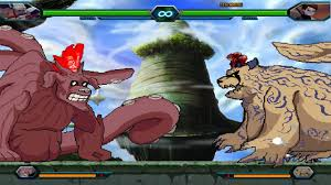 Gaara & Shukaku Vs Killer Bee & Gyūki - Bleach Vs Naruto 3.3 ...