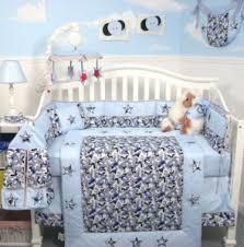 camo crib bedding set for a boy