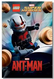 Best Offers Custom Canvas Wall Decor Ant Man Poster Ant Man Wall Sticker Office Mural Lego