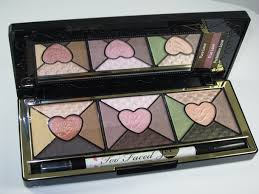 too faced love eyeshadow palette review