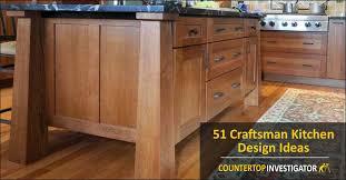 51 craftsman kitchen design ideas