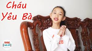 Bài Hát Cháu Yêu Bà Remix ♫♫ Ca Nhạc Thiếu Nhi Vui Nhộn Sôi Động ♫♫ Bé Bảo  Trâm - YouTube