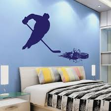3d Puck Hockey Wall Decal Trendy Wall Designs