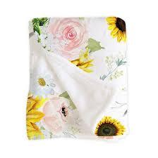 baby bedding sunflower crib sheet