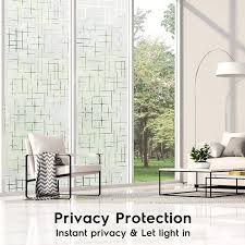 Mega Discount 355f8 3d Privacy Waterproof Static Cling Self Adhesive Frosted Window Films Hot Control Vinyl Film For Glass Anti Uv Window Sticker Cicig Co
