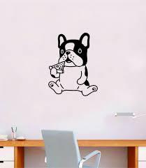 Pizza Dog Quote Wall Decal Sticker Bedroom Home Room Art Vinyl Inspira Boop Decals