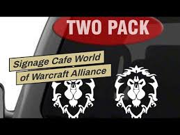 Laptop And More Decal Sticker For Car Window 4 X 5 1 White 2pk Signage Cafe World Of Warcraft Alliance Exterior Accessories Bumper Stickers Decals Magnets
