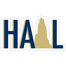 Hail Pitt Sticker Sticker By Orliforster In 2020 Stickers Stickers Stickers Vinyl Decal Stickers
