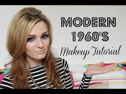 modern 1960 s makeup tutorial you