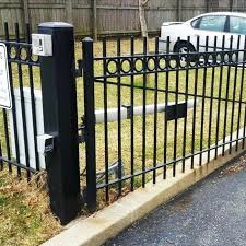 China Factory Free Sample Wrought Iron Sliding Gate Wrought Iron Fence Panels Yeson Factory And Manufacturers Yeson