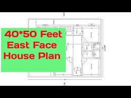 40x50 feet east facing house plan