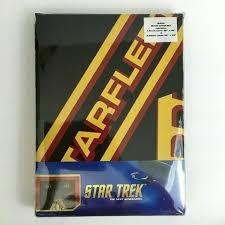 star trek tng starfleet academy bedding