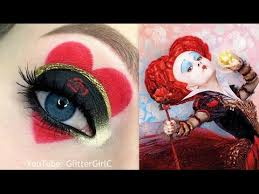 queen of hearts makeup alice in