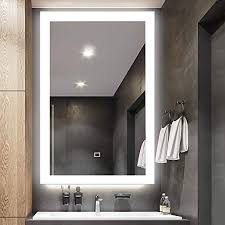 fumango bathroom vanity mirror led wall