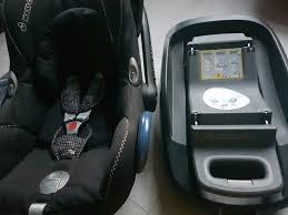 maxi cosi car seat isofix and base ex