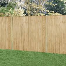 Forest Garden Featheredge Fence Panel 6 X 5