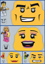 Divertidas Mascaras De Lego Para Imprimir Gratis Lego Para