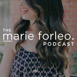 Image result for marie forleo apple podcast""