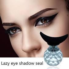 cut crease makeup crystal lazy silicon