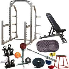 body solid gold garage gym package for