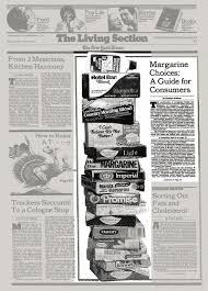 margarine choices a guide for