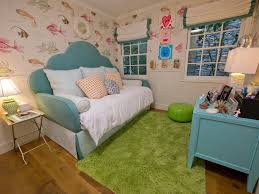 A Tween Girl S Underwater Themed Bedroom Hgtv