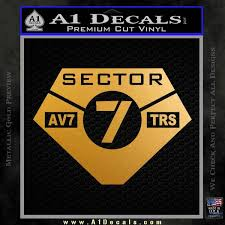 Transformers Sector 7 Decal Sticker A1 Decals
