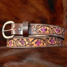 kids personalized leather belt