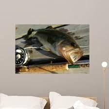 Bass Fishing Wall Decal Wallmonkeys Com