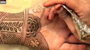 mehndi design front side images