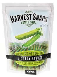 calbee harvest snaps snapea crisps