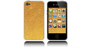 Gold Iphone Decals Skin Dezign With A Z