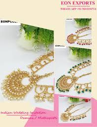 gold damini fashion jewelry