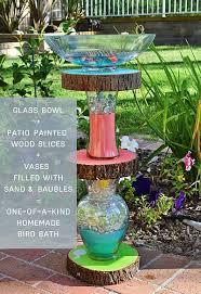 decoart blog diy homemade bird bath