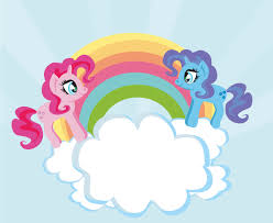 cute rainbow unicorns