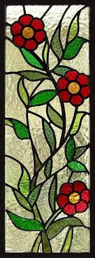 888 best stained glass flowers images
