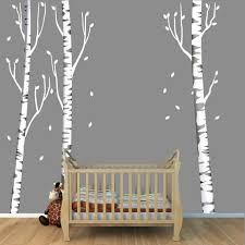 Repositionable Birch Tree Decal More Realistic Reusable Etsy Birch Tree Wall Decal Birch Tree Decal Tree Decals