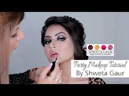 party makeup tutorial shweta gaur