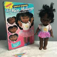 black little miss makeup doll