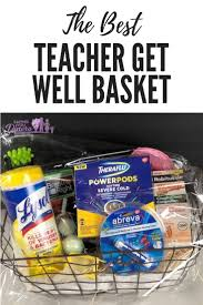 the best teacher get well basket