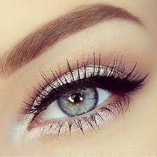 simple blue eye makeup cat eye makeup