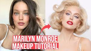marilyn monroe makeup tutorial with
