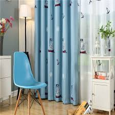 Byetee Children Curtains For Living Blackout Embroidered Curtains Children Baby Room Boys Bedroom Kids Curtain Fabrics Kids Curtains Boy Room Baby Boy Rooms