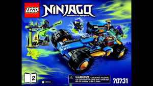 Lego Ninjago Jay Walker One 70731 Instructions Book DIY 2 - YouTube