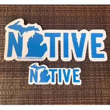 Michigan Native Decal Livnfresh Com