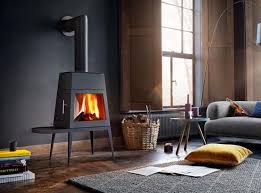 6 modern takes on wood burning stoves